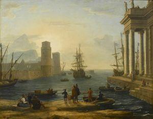 Claude Lorraine - Setting Sail.